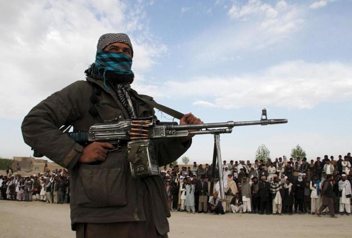 Một thành viên của Taliban. Ảnh: Reuters