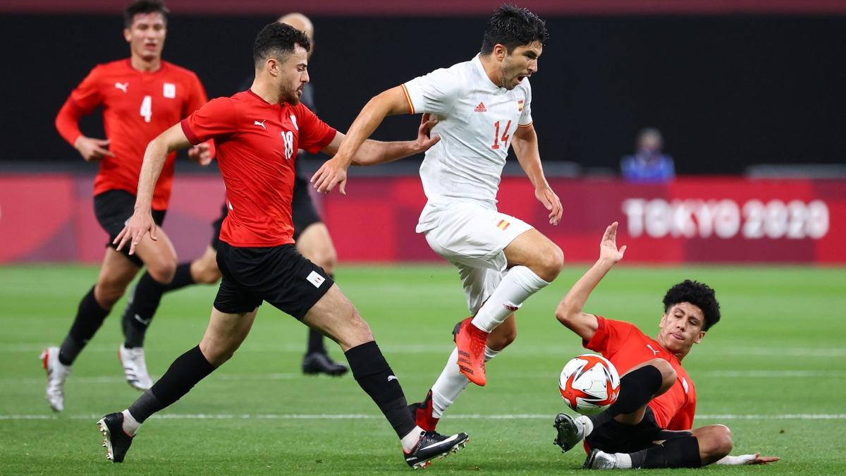 Olympic Tây Ban Nha cần nỗ lực rất nhiều nếu muốn đánh bại Australia đang hưng phấn. (Ảnh: Reuters