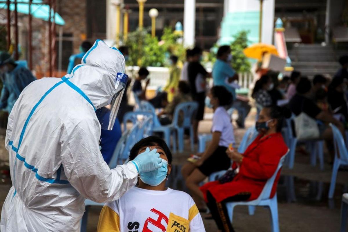 Số ca mắc Covid-19 mới tại Thái Lan có thể tăng gấp 3 lần. Ảnh: Reuters