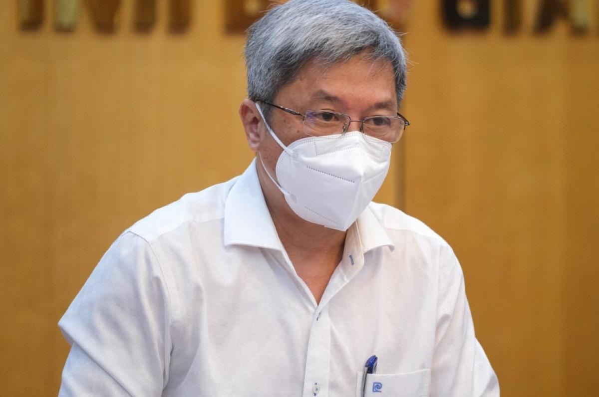 Thứ trưởng Bộ Y tế kêu gọi toàn ngành chống dịch COVID-19.