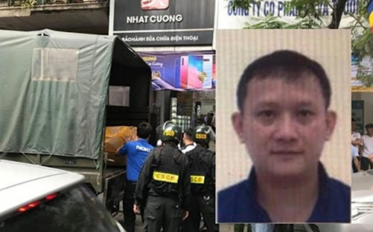Đối tượng Bùi Quang Huy (Tổng Giám đốc Nhật Cường) hiện đang bị truy nã