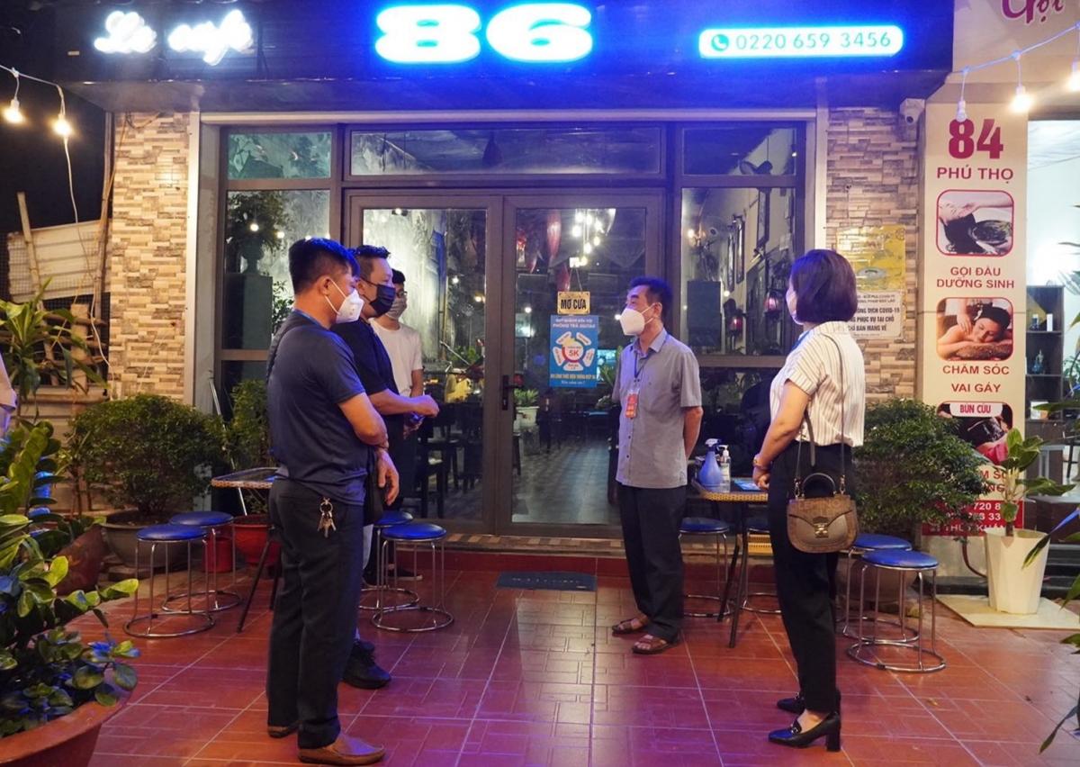 Tạm dừng hoạt động của các nhà hàng, quán ăn, uống (kể cả bán hàng mang về) trên địa bàn TP. Hải Dương từ 21h ngày 30/7.