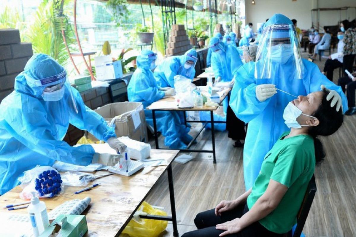 Sáng 22/7, Việt Nam có 2.967 ca mắc COVID-19 mới.