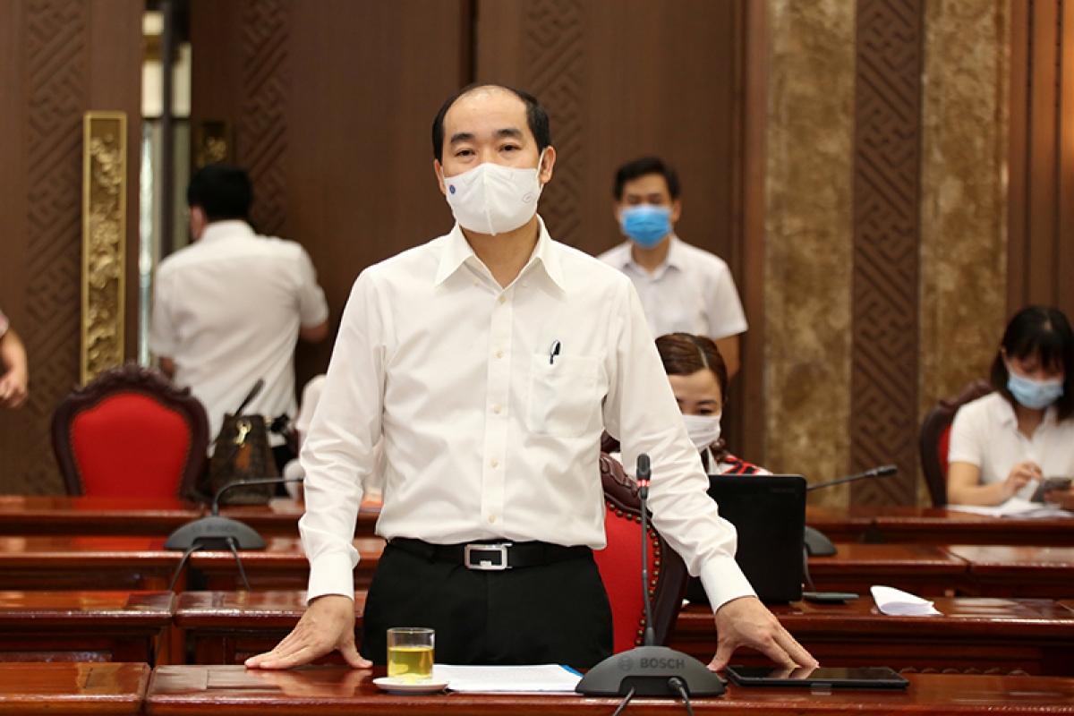 ÔngNguyễn Đình HưngPhó Giám đốc Sở Y tế Hà Nội.