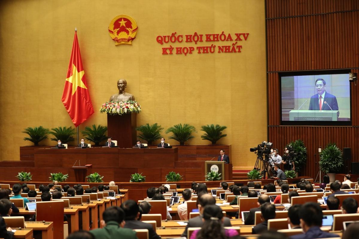 Lễ tuyên thệ nhậm chức của Thủ tướng Phạm Minh Chính.