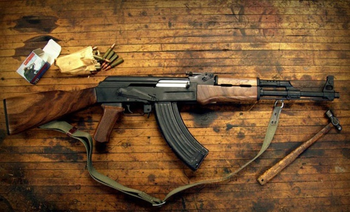 Súng trường AK-47. Ảnh: Worldguns.