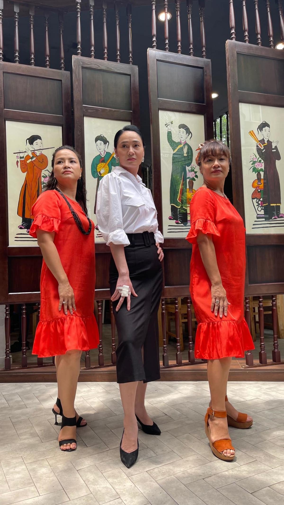 Hậu trường hài hước một cảnh phim chưa lên sóng được Quách Thu Phương chia sẻ liên quan đến ba nhân vật Sa, Xuân và Bích.