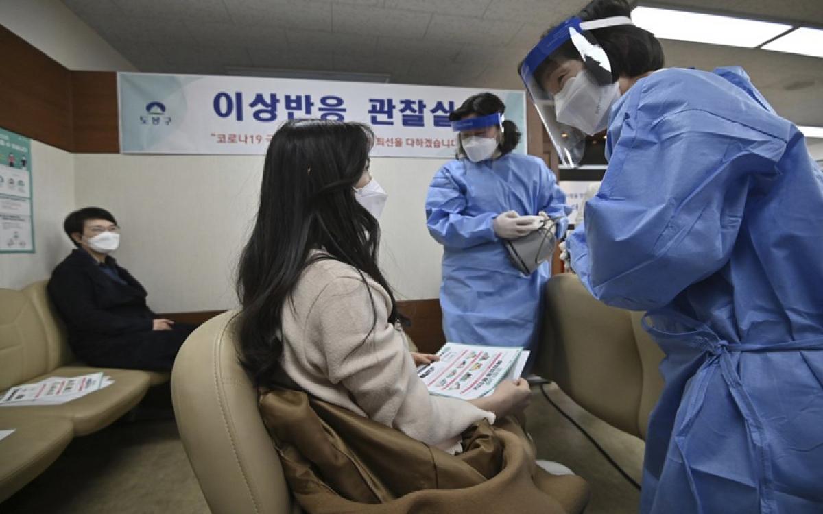 Tiêm vaccine tại Hàn Quốc
