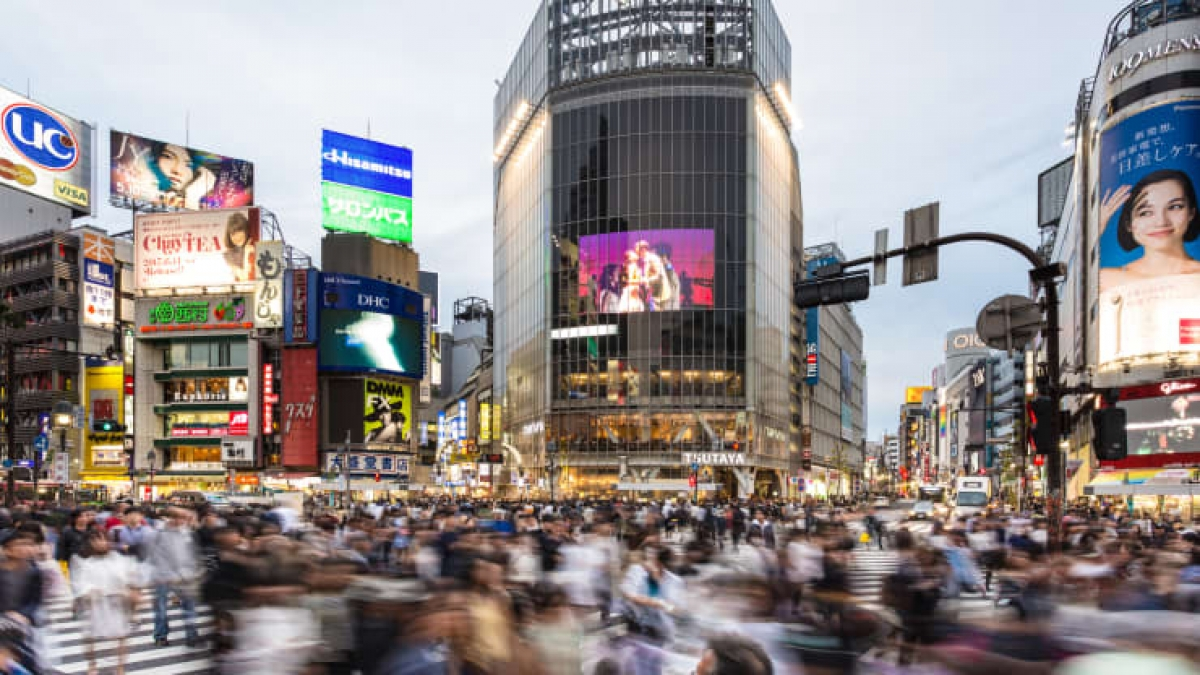 Khu vực Shibuya ở Tokyo. Nguồn: Getty Images
