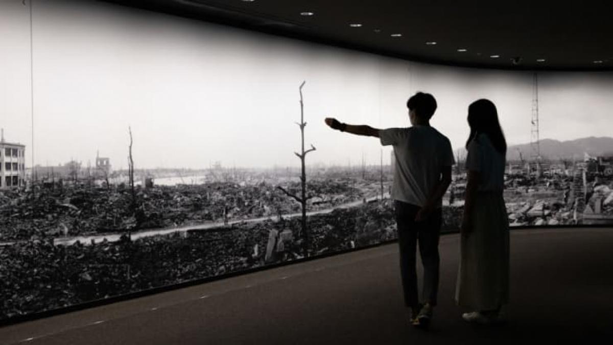 Bảo tàng Tưởng niệm Hòa bình Hiroshima. Nguồn: Getty Images