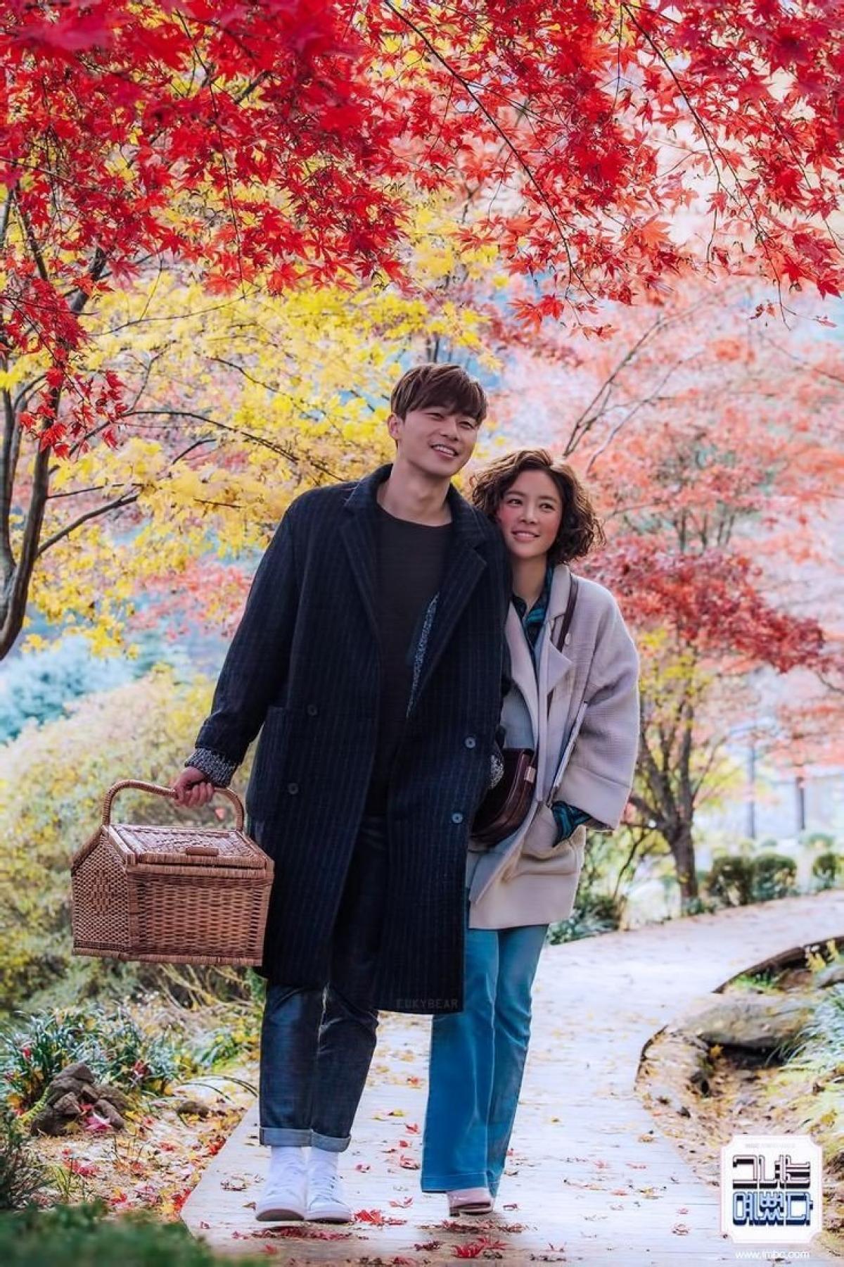 """""""She was pretty"""" đánh dấu lần đầu tiênPark Seo Joon đảm nhận vai nam chính."""