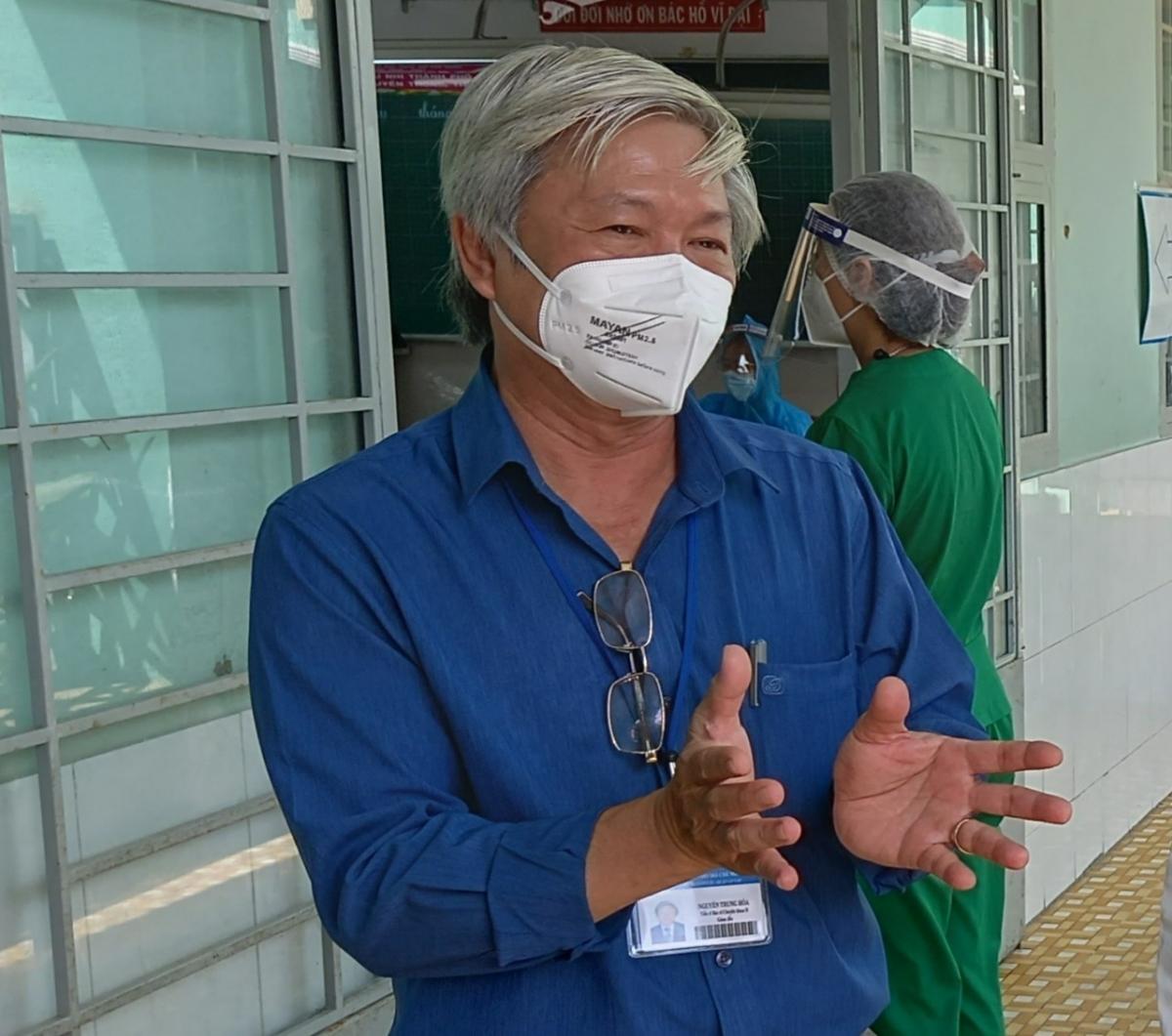 TS.BS. Nguyễn Trung Hòa, GiámđốcTrung tâm Y tế quận Gò Vấp, TP.HCM.(Ảnh: Bộ Y tế)