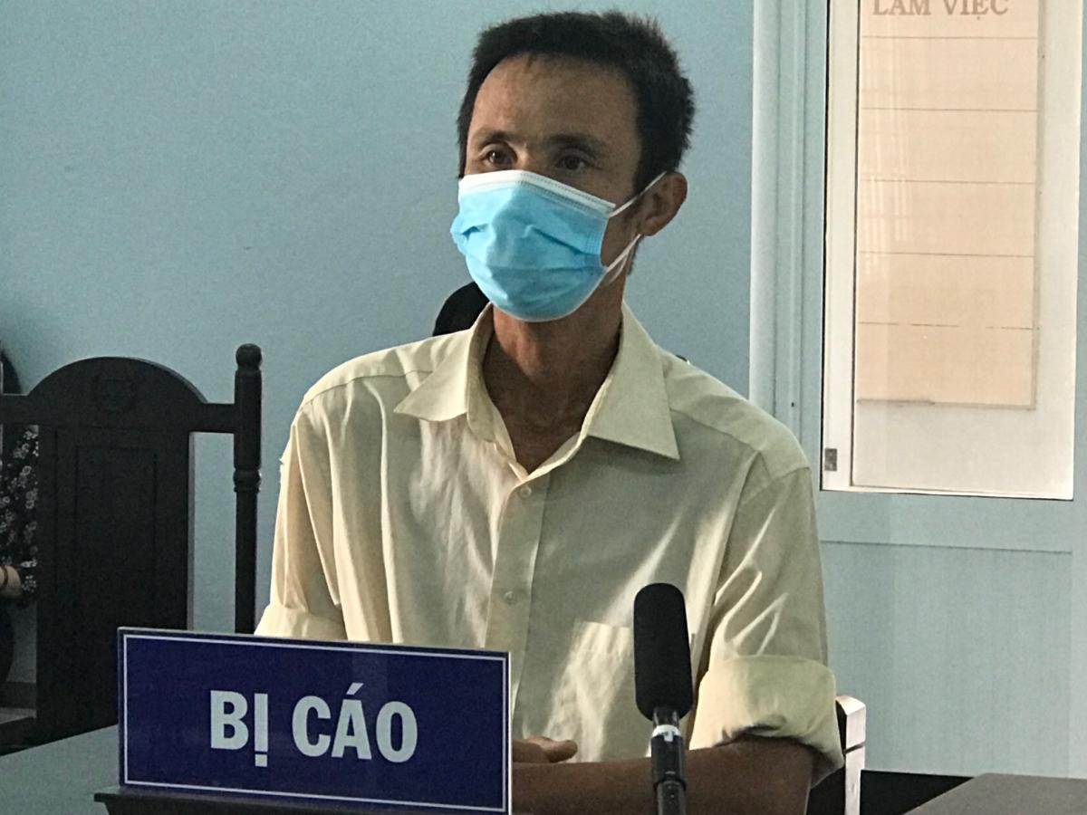 Bị cáo Trần Văn Hùng.