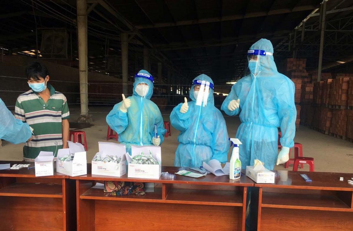 Số ca mắc Covid-19 trong ngày tại Tây Ninh giảm sâu (Ảnh minh hoạ: Thắm Nguyễn)