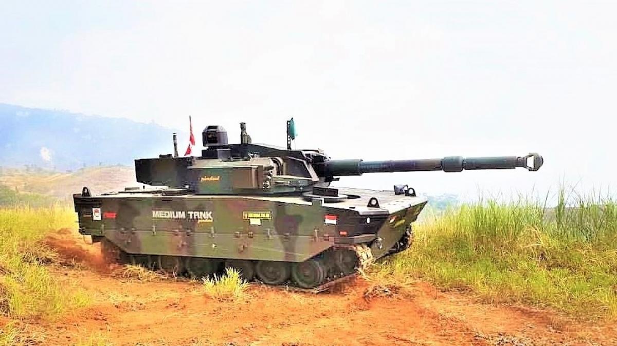 Xe tăng hạng trung hiện đại Kaplan MT/Harimau do Indonesia và Thổ Nhĩ Kỳ phát triển. Nguồn: radarmiliter.com