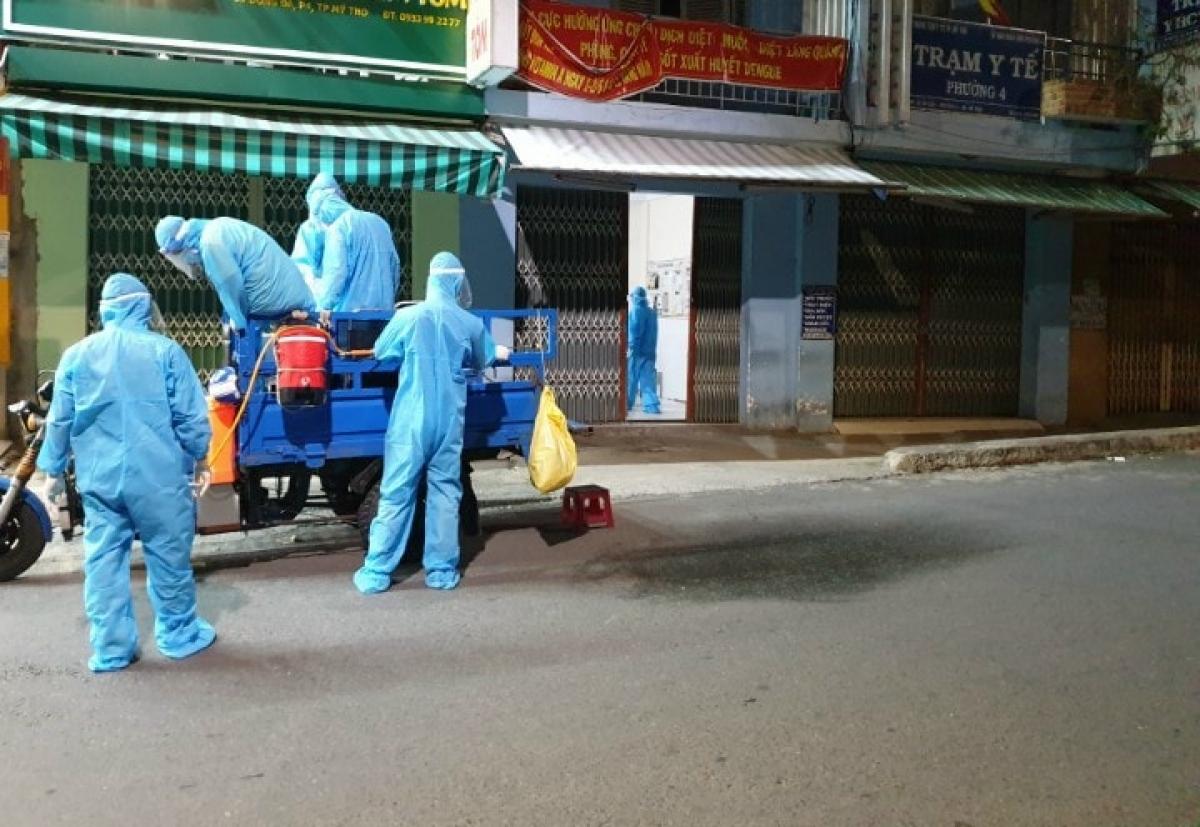 Lực lượng cán bộ y tế chủ lực trong công tác phòng chống dịch bệnh.