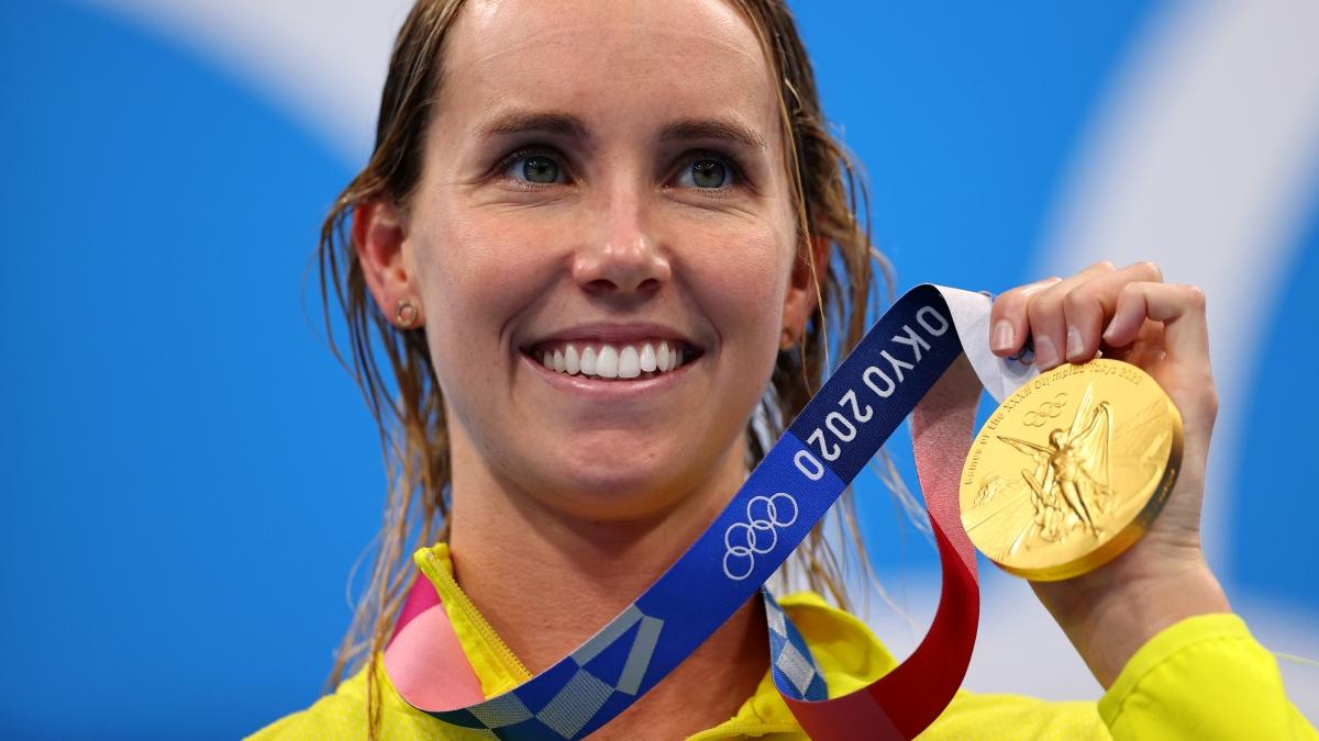 Emma McKeon lập kỷ lục vô tiền khoáng hậu trên đất Nhật Bản (Ảnh: Reuters).
