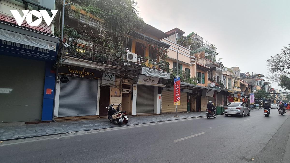 Nhà phố cổ Hà Nội, 2 năm nay khó cho thuê vì dịch bệnh.