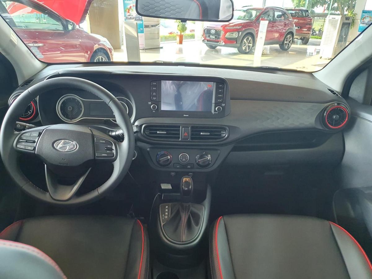 Nội thất của Hyundai Grand i10 2021 cũng đã có nhiều thay đổi.
