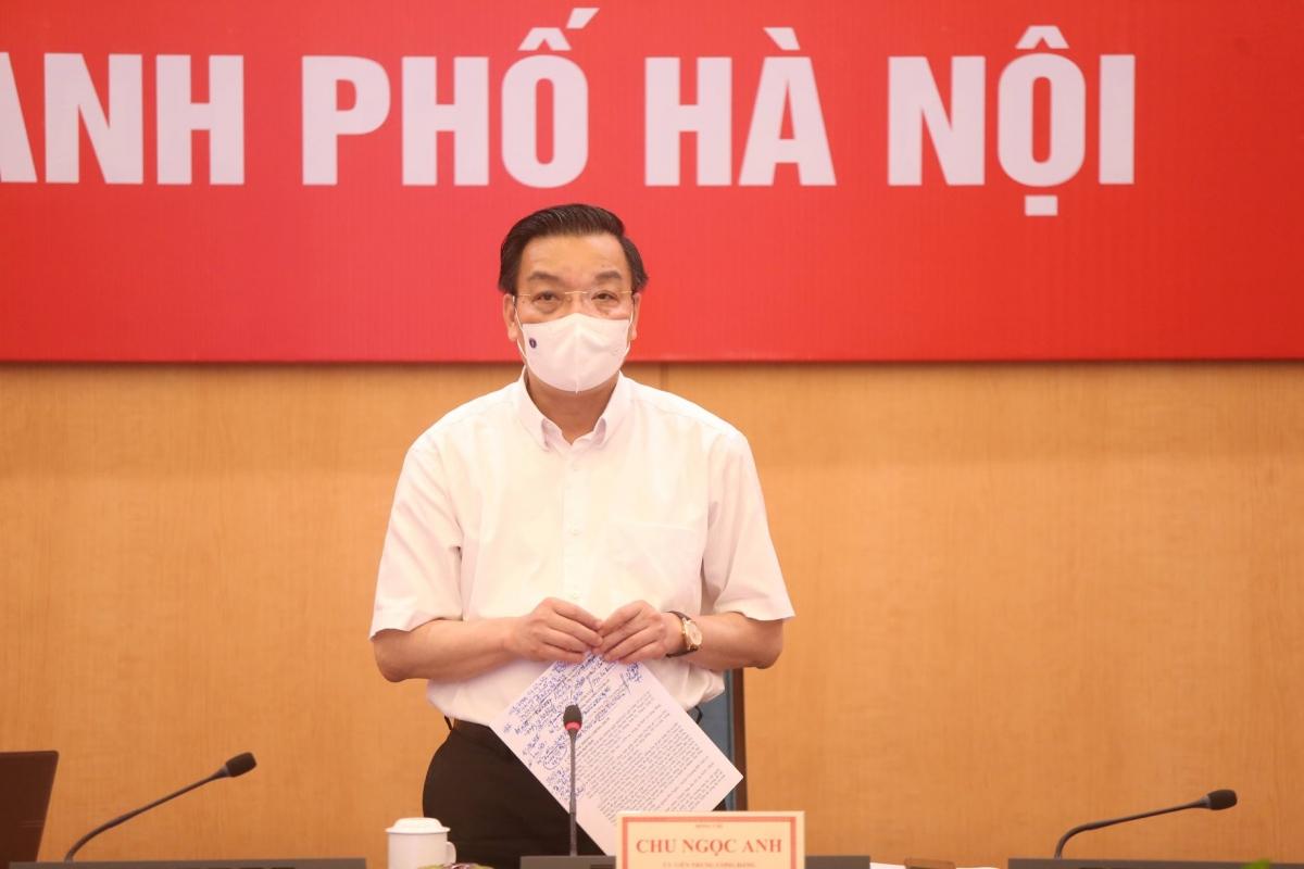 Chủ tịch UBND TP. Hà Nội Chu Ngọc Anh.