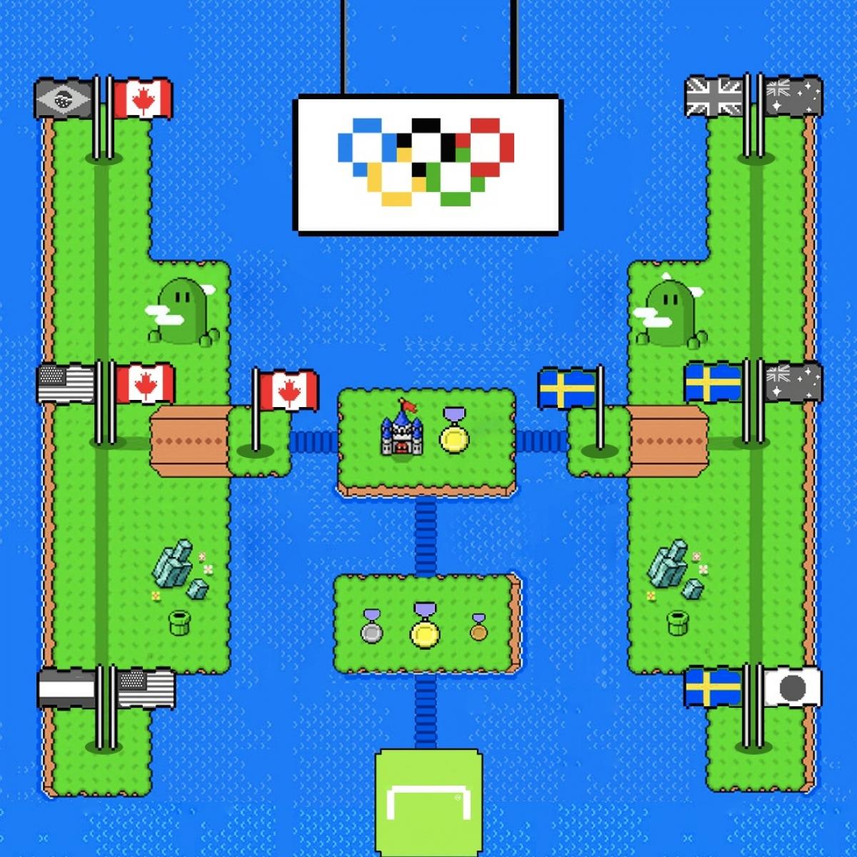 Thuỵ Điển và Canada gặp nhau ở chung kết bóng đá nữ Olympic Tokyo. (Ảnh: Goal)