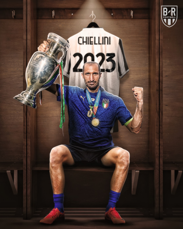 "Juventus ""trói chân"" Giorgio Chiellini. (Ảnh: Bleacher Reports)"