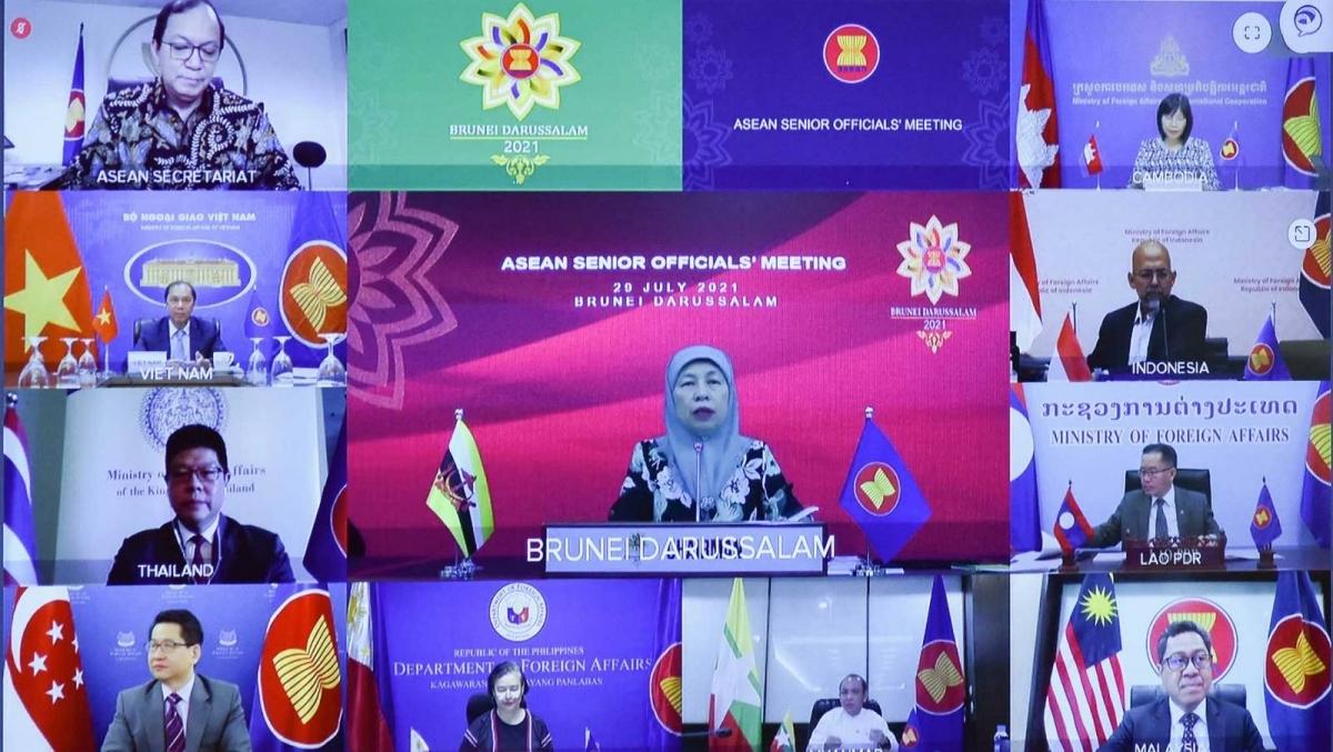 Hội nghị các Quan chức cao cấp (SOM) ASEAN trù bị cho Hội nghị Bộ trưởng Ngoại giao ASEAN lần thứ 54 (AMM-54).