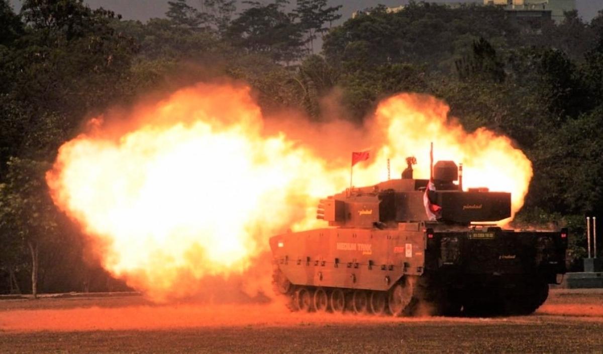 Xe tăng Kaplan MT/Harimau đã qua thử nghiệm và được đưa vào sản xuất. Nguồn: jakartagreater.com