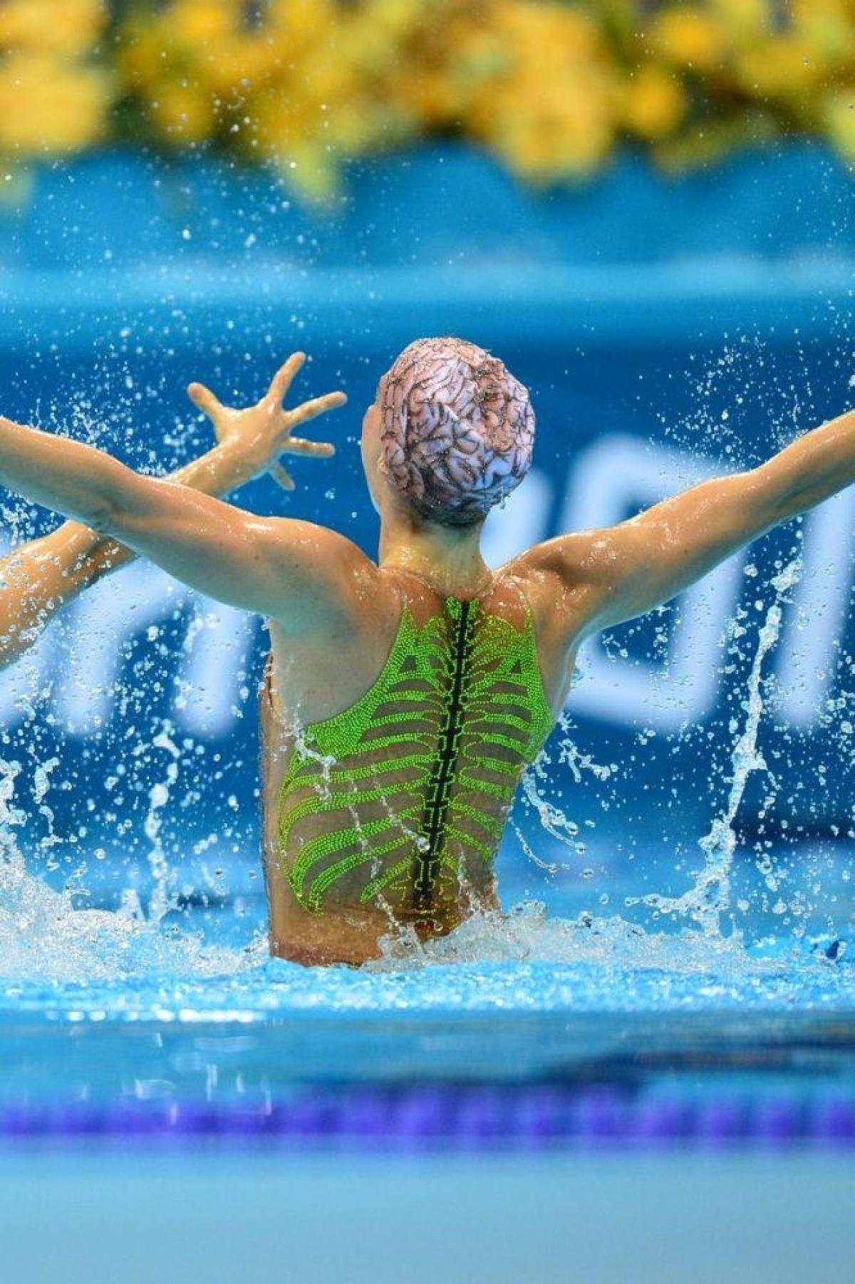 Đội tuyển bơi nghệ thuật Brazil.