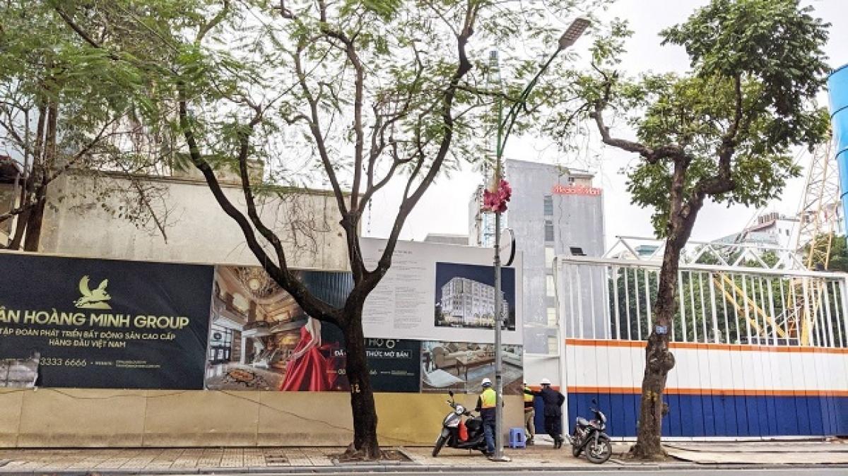 Dự án The Grand Hàng Bài (tại 22- 24 Hàng Bài, Hai Bà Trưng) thuộc vị trí đất vàng của Hà Nội.