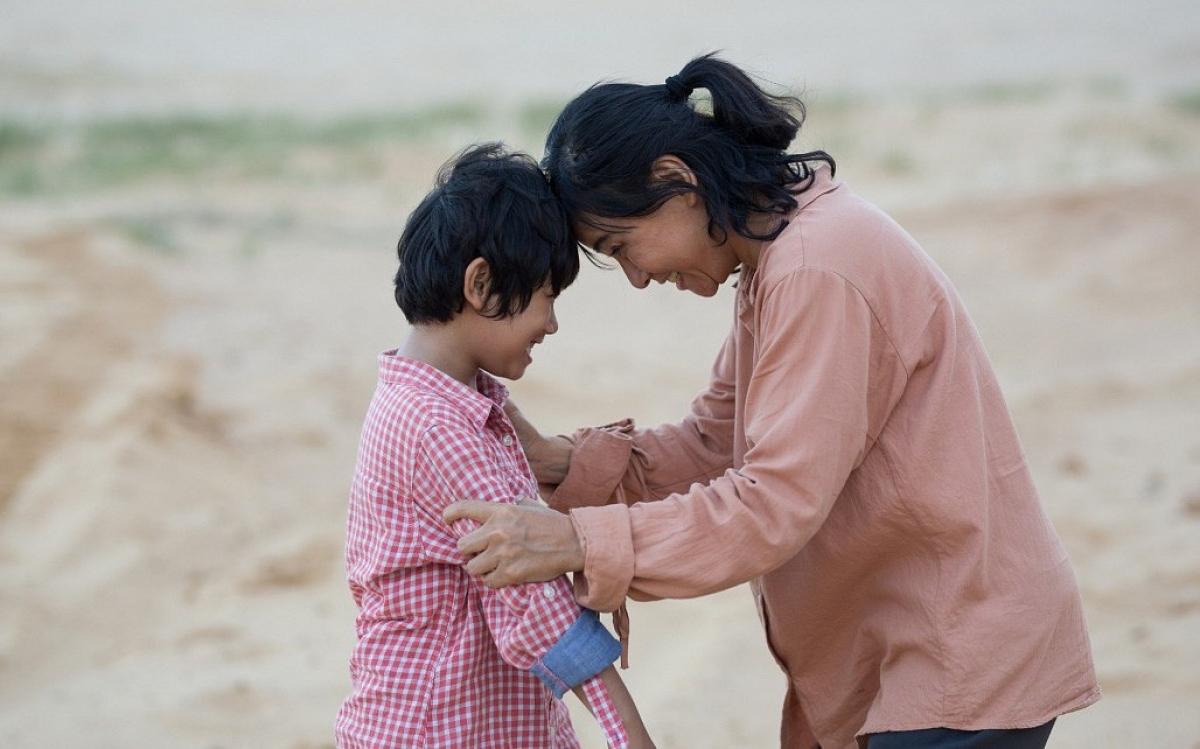 "A scene inmovie ""Hanh phuc cua me"" (Mom's happiness)"