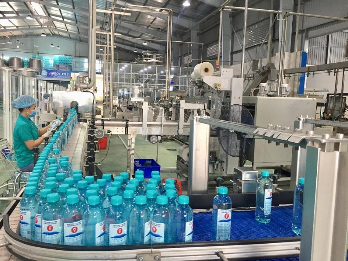 Vietnamese ION alkaline drinking water with Fujiwa brand has been sold well in Australia