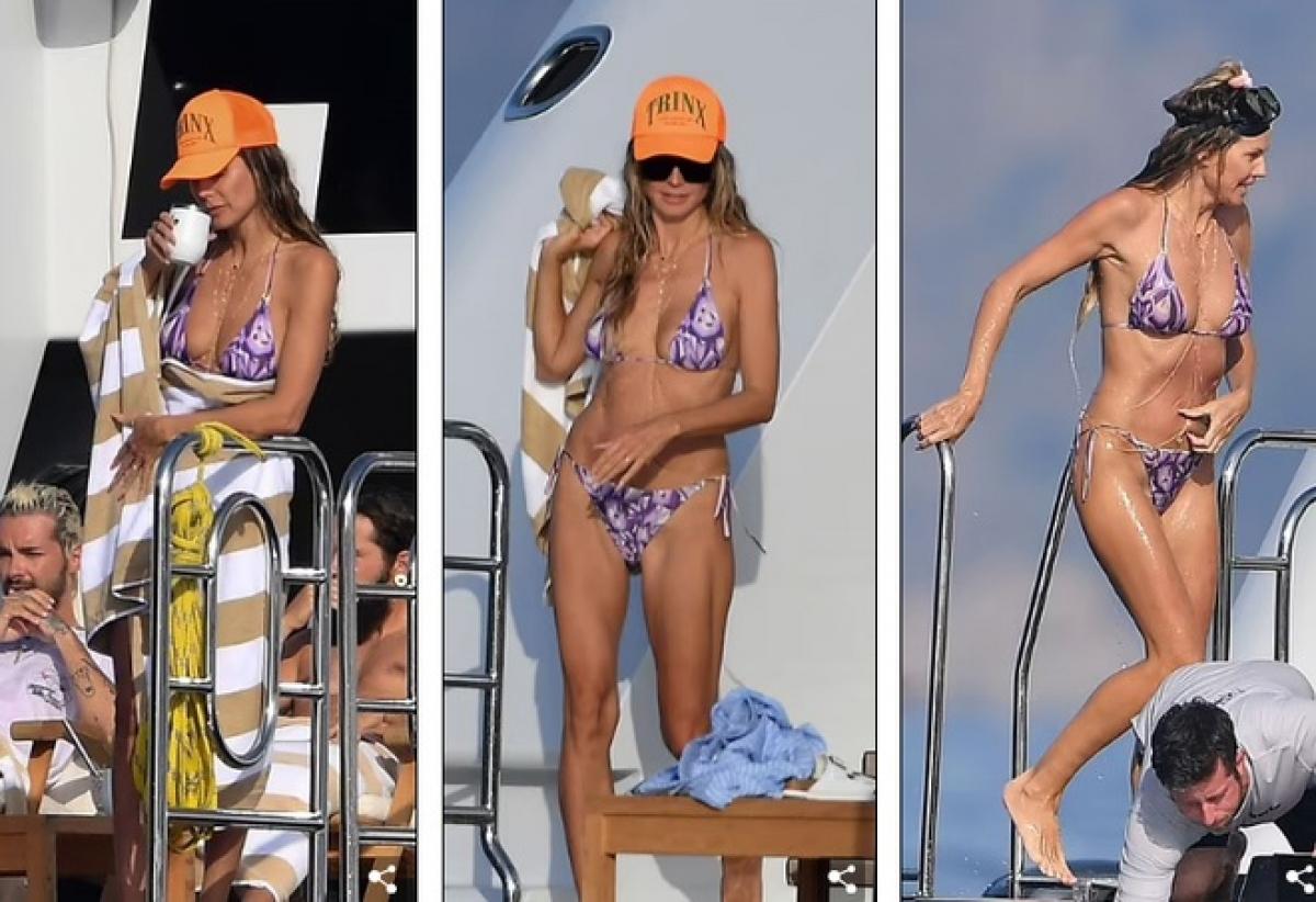Tom Kaulitz là người chồng thứ ba của siêu mẫu áo tắm nổi tiếng.