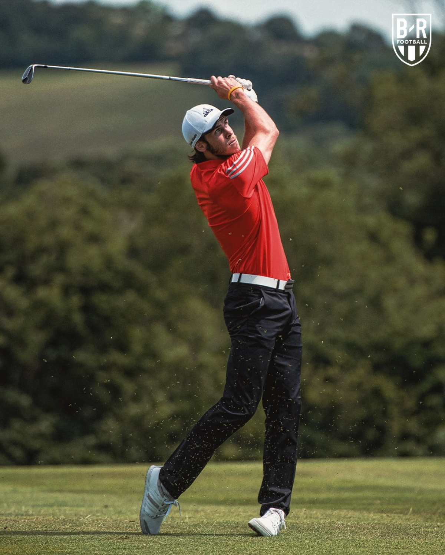 Golfer Gareth Bale.