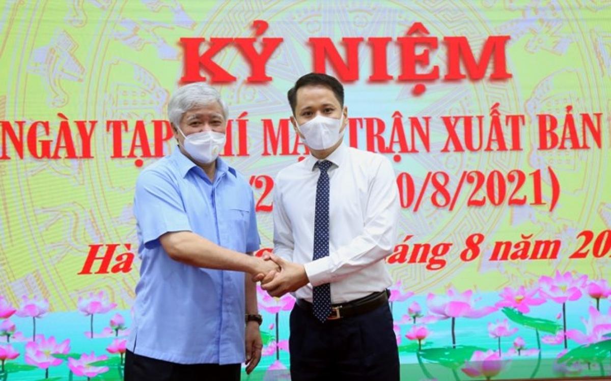 Chủ tịch Đỗ Văn Chiến mong muốn, trong thời gian tới Tạp chí Mặt trận hoàn thiện các tiêu chuẩn của một tạp chí khoa học, đồng thời tiếp tục thực hiện tốt tôn chỉ mục đích là cơ quan ngôn luận của Ủy ban Trung ương MTTQ Việt Nam.