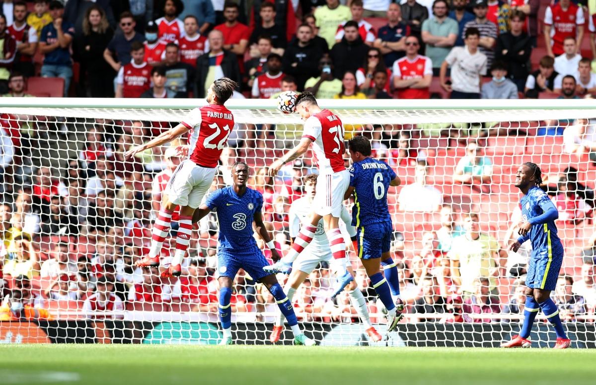 Arsenal chơi khởi sắc hơn trong hiệp 2 và bàn gỡ hòa đến với họ ở phút 69 sau cú đánh đầu của Xhaka.