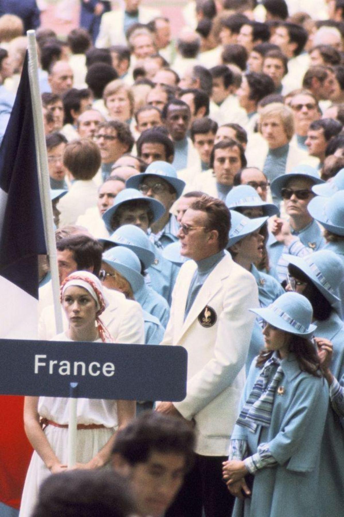 Đội tuyển Pháp tại Olympic năm1976.