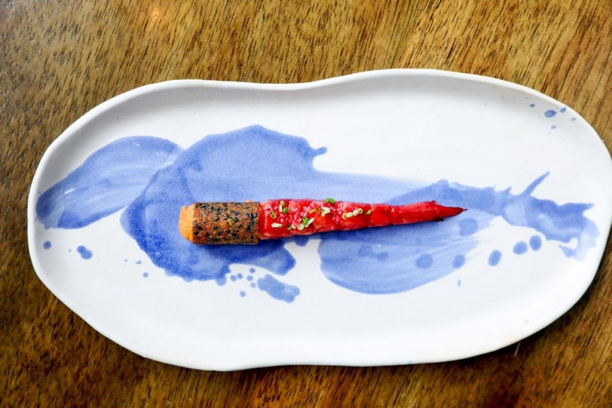 Món ăn tại nhà hàng Bo Innovation. Nguồn: Michelin