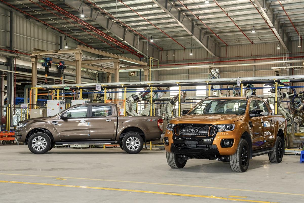 Để được xuất xưởng, Ford Ranger phải trải qua nhiều bài kiểm tra khắc nghiệt.