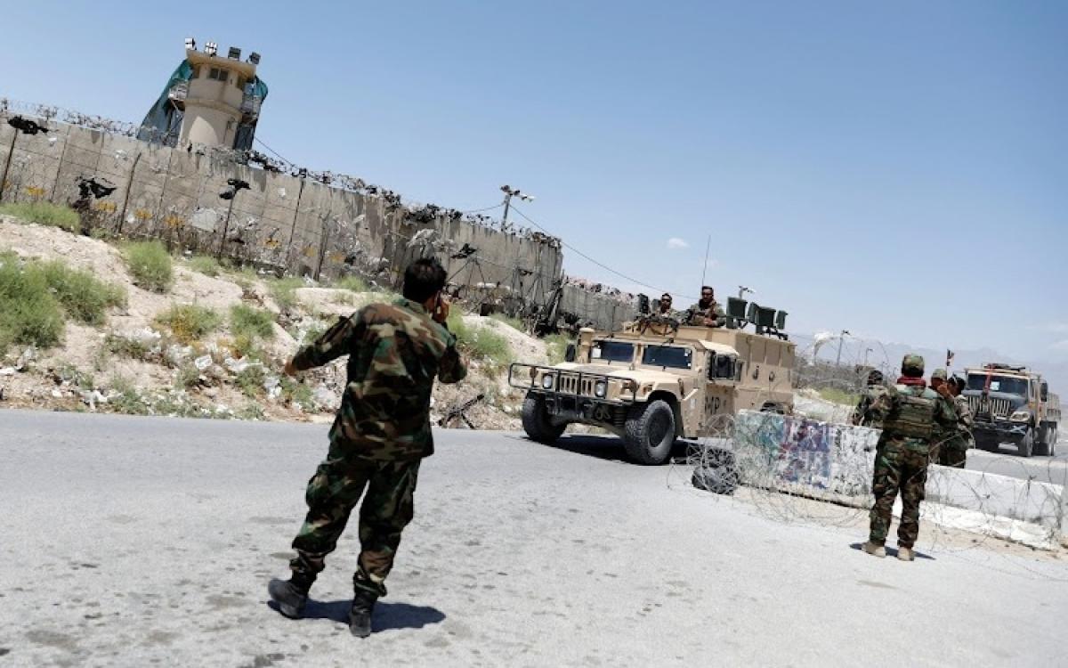 Quân chính phủ Afghanistan tái chiếm được khu Guzara (tỉnh Herat) từ tay Taliban. Ảnh: TheStar.
