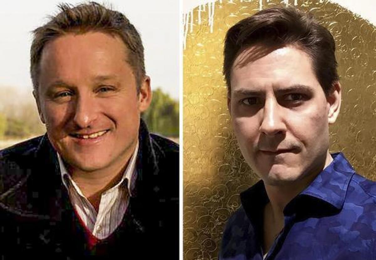 Michael Spavor (trái) và Michael Kovrig (phải) - hai công dân Canada bị Trung Quốc bắt giữ và xét xử. Ảnh: Mạng Kinh tế Trung Quốc