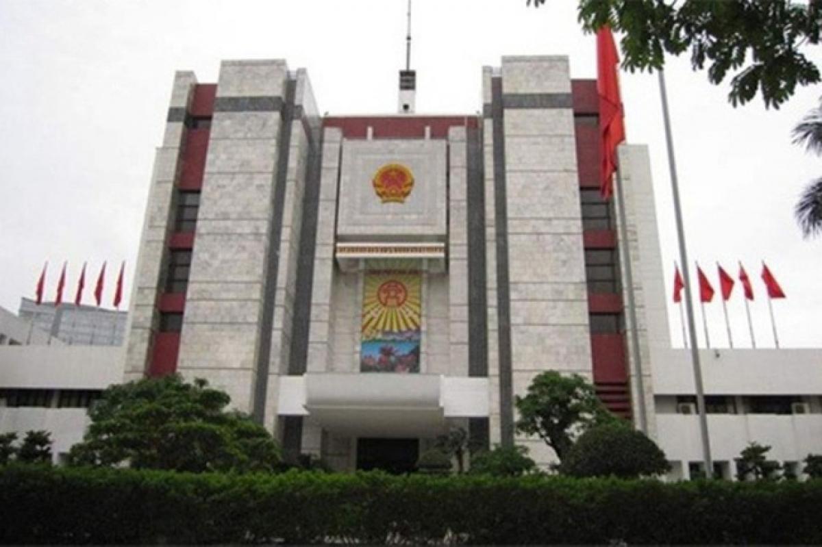 Trụ sở UBND Thành phố Hà Nội.