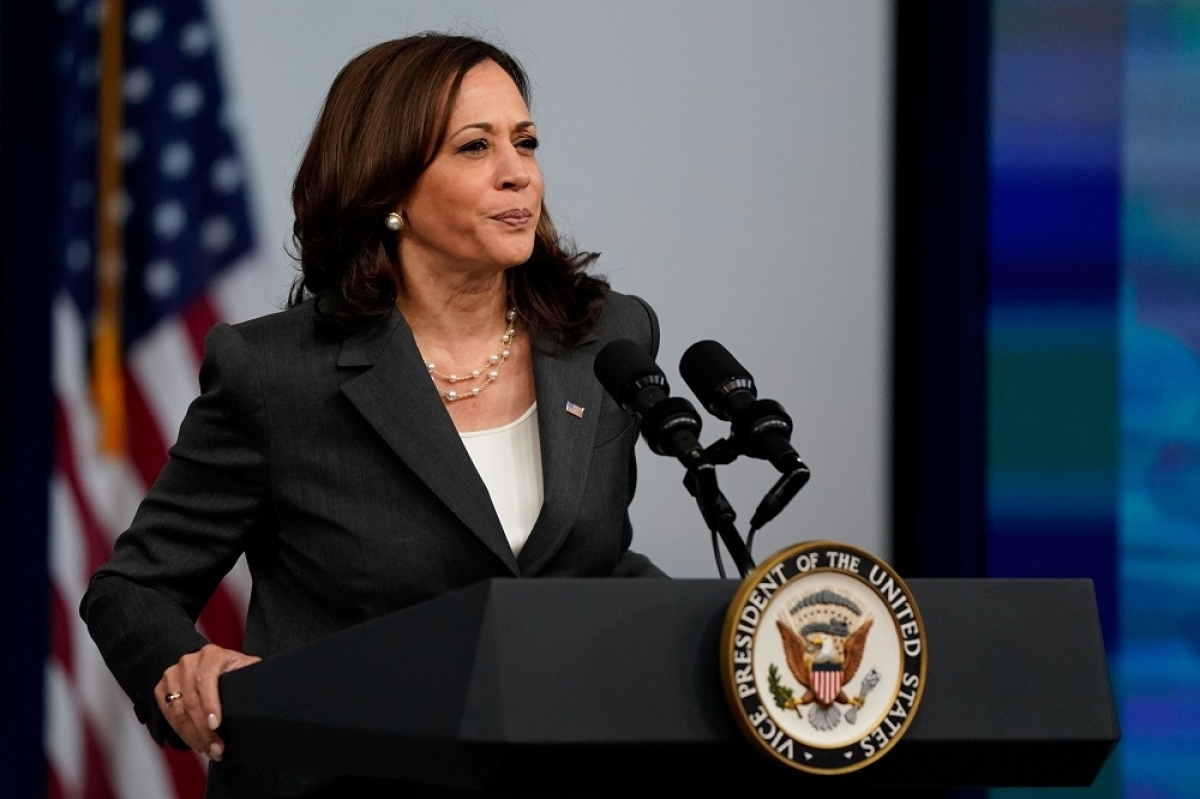Vice President Kamala Harris has left the US for trip to Singapore and Vietnam, (Photo: Reuters)