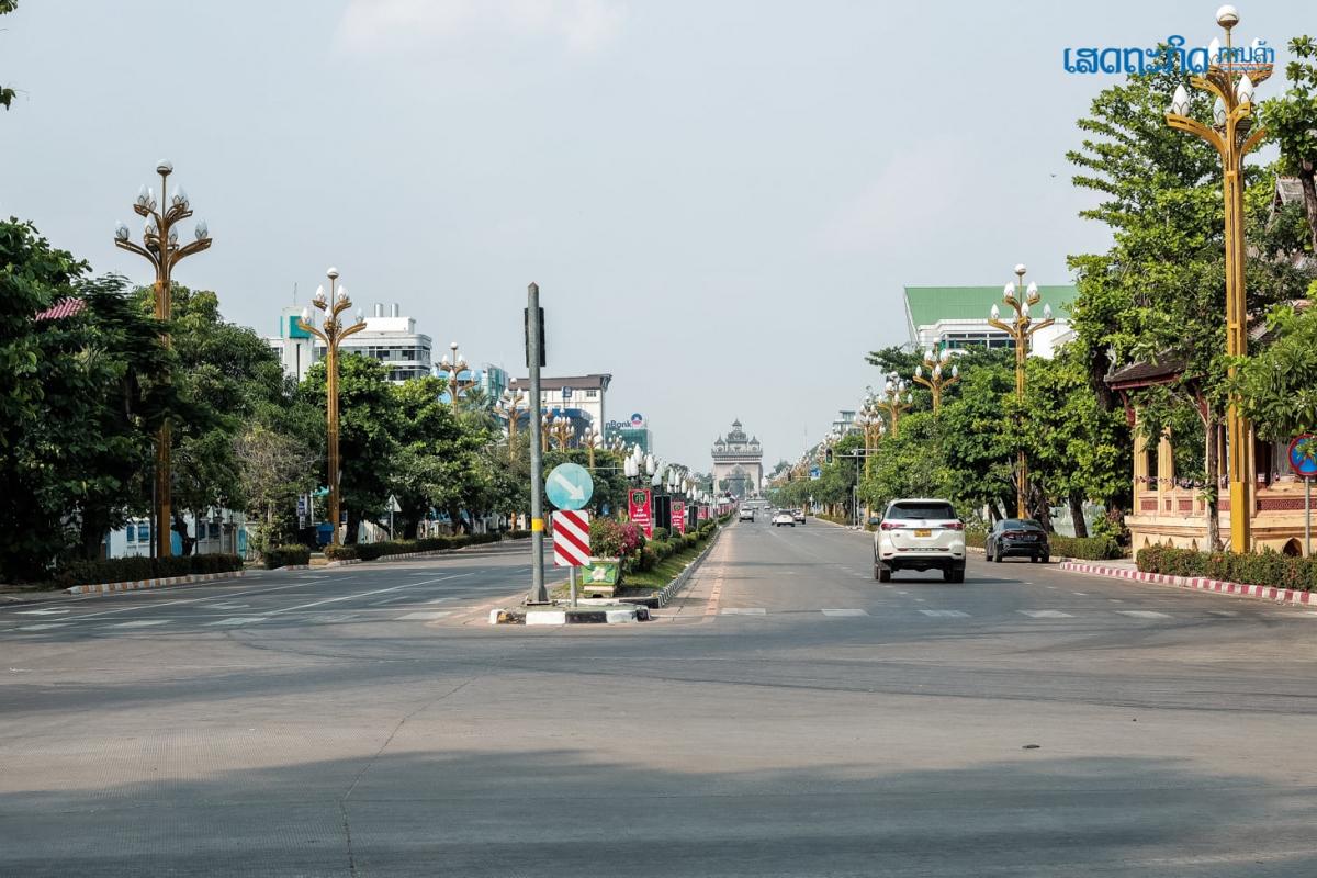 Lào tiếp tục gia hạn lệnh phong tỏa để phòng dịch. Nguồn: Nhật báo kinh tế Lào