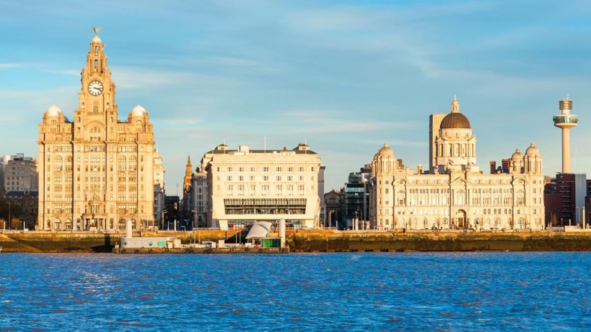 Khung cảnh nổi tiếng của thành phố cảng Liverpool. Nguồn: Getty