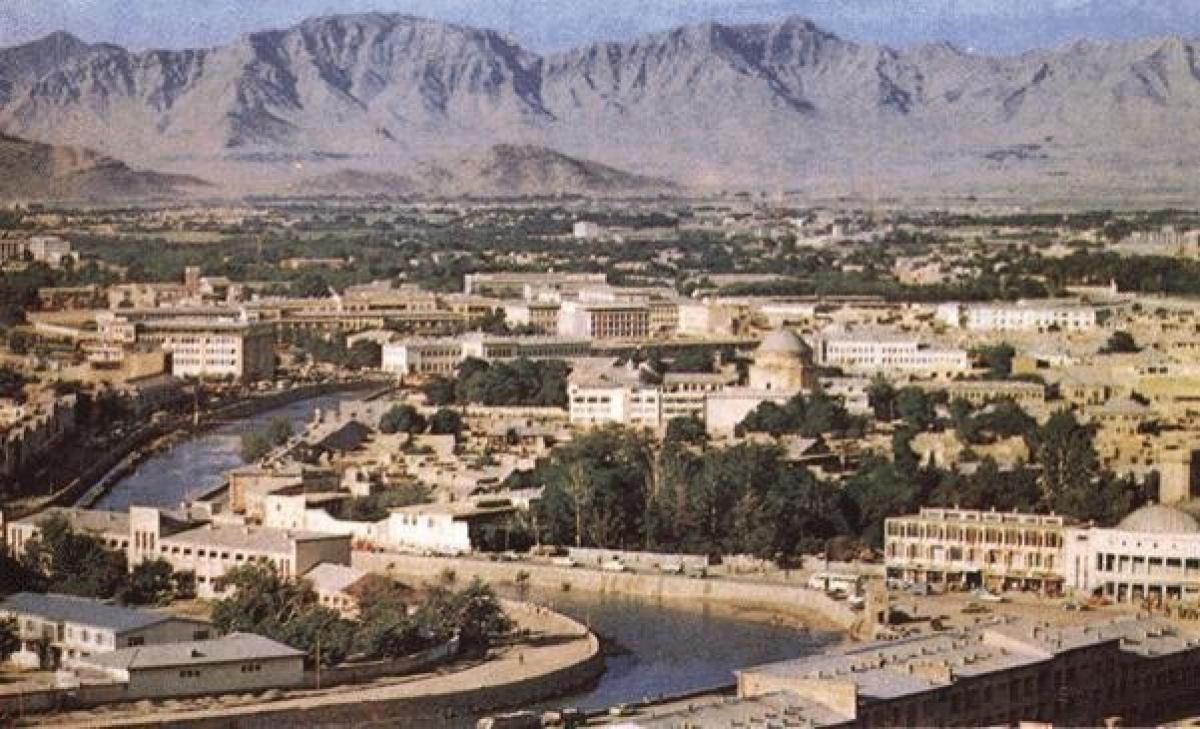 Thành phố Kabul hiện đại của năm 1960.