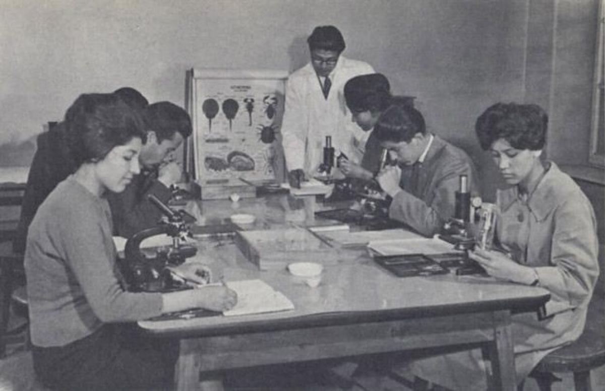 Khoa Sinh học, Đại học Kabul ở Afghanistan.