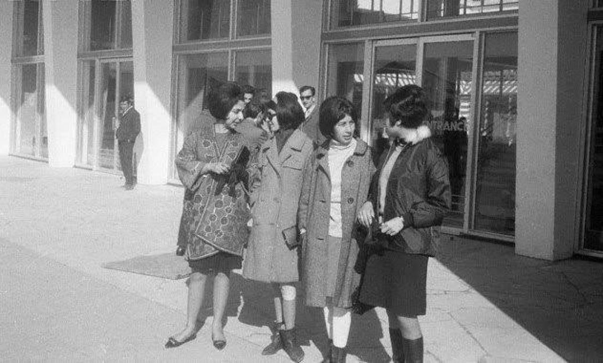 Những người phụ nữ Afghanistan cách đây hơn nửa thế kỷ.