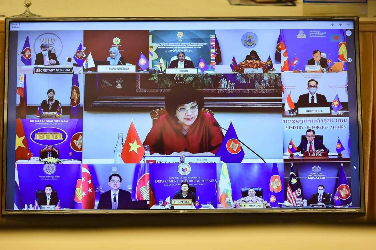 Phiên Đối thoại thường niên giữa các Bộ trưởng Ngoại giao ASEAN với các Đại diện của Uỷ ban liên Chính phủ ASEAN về nhân quyền (AICHR)