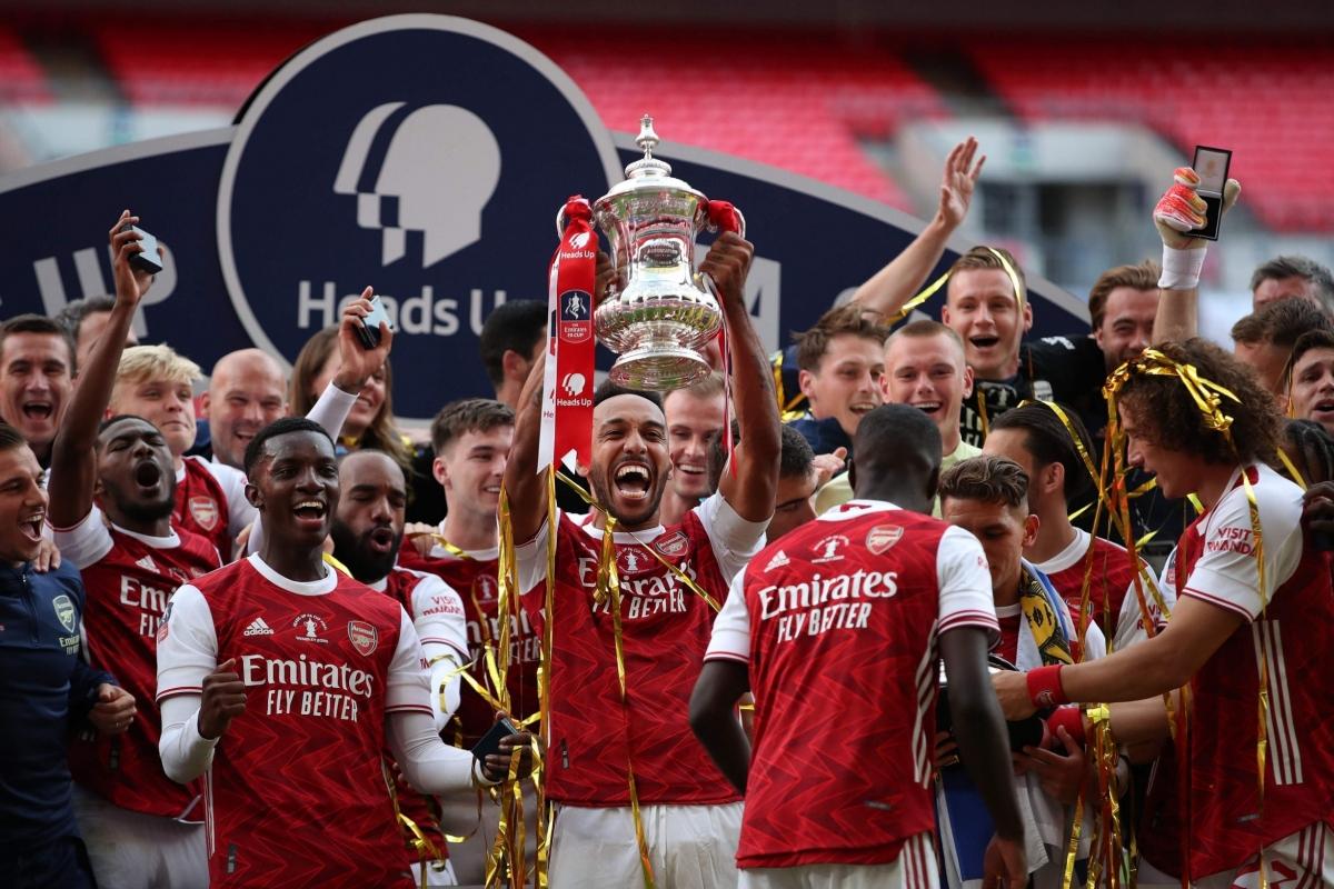 Arsenal đăng quang chức vô địch FA Cup lần thứ 14 ngày này 1 năm trước. (Ảnh: Getty).